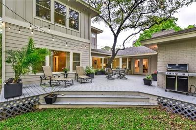 Austin Single Family Home For Sale: 4107 Tablerock Dr