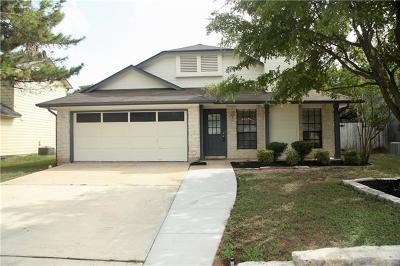 Cedar Park Single Family Home For Sale: 609 Brookside Pass