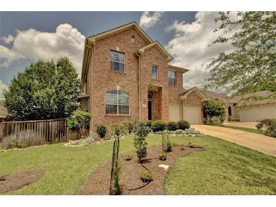 Round Rock Single Family Home For Sale: 1116 Hidden View Pl