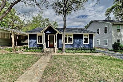 Austin Single Family Home For Sale: 2902 Clearview Dr