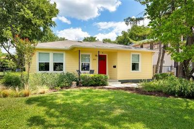 Travis County Single Family Home For Sale: 1814 W Saint Johns Ave