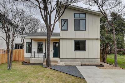 Travis County, Williamson County Single Family Home For Sale: 1407 Singleton Ave