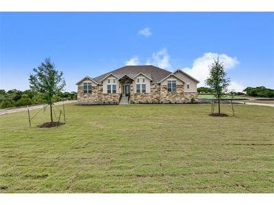 Austin Single Family Home For Sale: 481 Gato Del Sol Dr