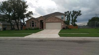 Killeen Single Family Home For Sale: 7501 Pyrite Dr