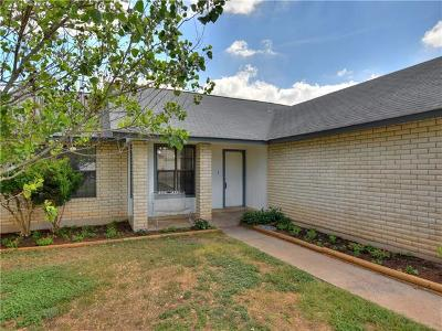 Cedar Park Single Family Home For Sale: 2600 Cypress Ln
