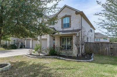 Round Rock Single Family Home For Sale: 4400 Barchetta Dr