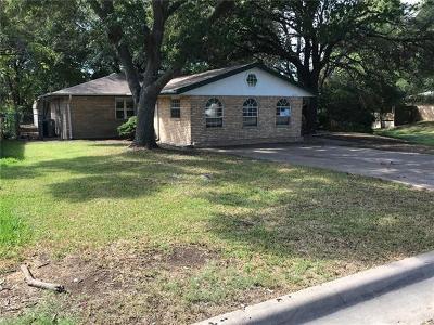 Temple Single Family Home For Sale: 3209 Keller Rd