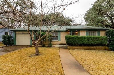Single Family Home For Sale: 4707 Strass Dr