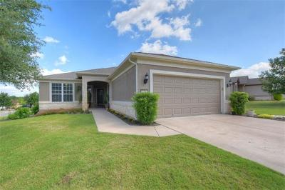 Georgetown Single Family Home For Sale: 148 Prairie Creek Trl