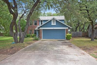 Cedar Park Single Family Home For Sale: 1802 Locust Cv