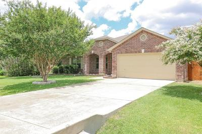 Round Rock Single Family Home For Sale: 201 Santolina Ln