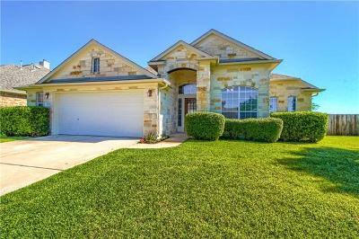 Pflugerville Single Family Home For Sale: 1240 Canyon Maple Rd