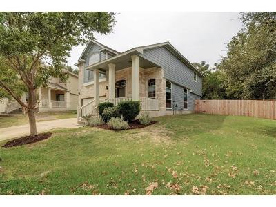 Travis County Single Family Home Pending - Taking Backups: 8715 Dulcet Dr