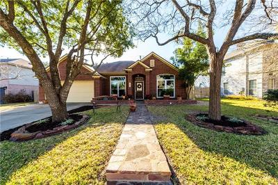 Cedar Park Single Family Home For Sale: 1217 Fox Sparrow Trl
