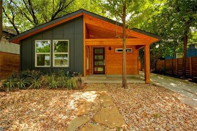 Austin Single Family Home For Sale: 301 1/2 Navasota St
