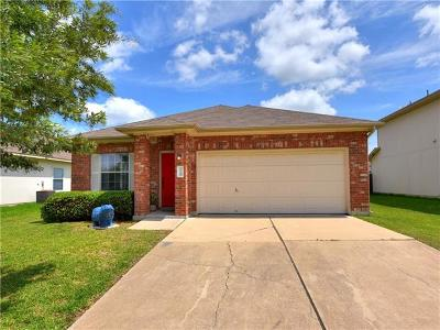 Hutto Single Family Home For Sale: 128 Almquist St