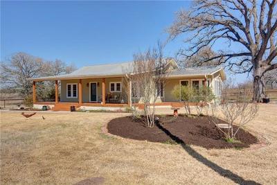 Lockhart Single Family Home For Sale: 6501 E Fm 20