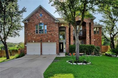 Round Rock Single Family Home For Sale: 4504 Corazon Cv