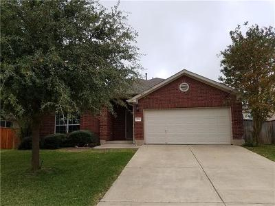 Round Rock Rental For Rent: 4506 Heritage Well Ln