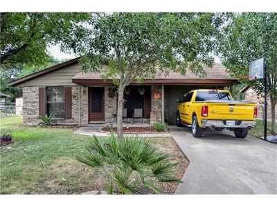 Lockhart Single Family Home Pending - Taking Backups: 1302 Pendergrass St