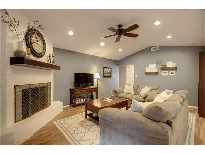 Austin Single Family Home Pending - Taking Backups: 8801 Dawnridge Cir