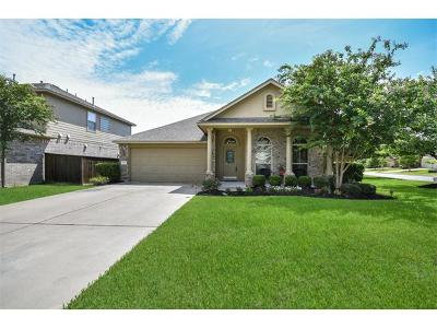 Round Rock Single Family Home For Sale: 1510 Greenside Dr