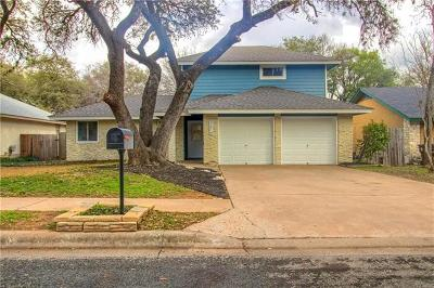 Round Rock Single Family Home For Sale: 3614 Hillrock Dr