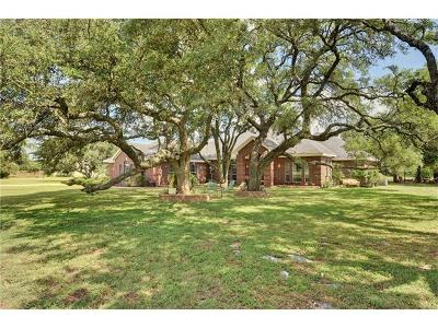Buda Single Family Home For Sale: 210 Humphreys Dr