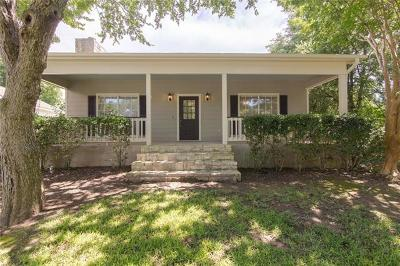 Salado Single Family Home Active Contingent: 1516 Old Mill Rd