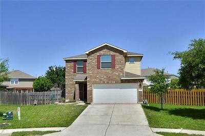 Hutto TX Single Family Home For Sale: $225,000