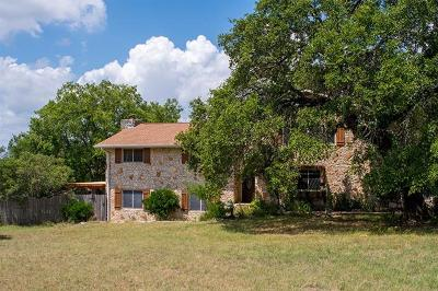 Round Rock Single Family Home For Sale: 1808 Mayfield Dr