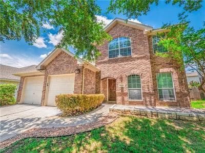 Pflugerville Single Family Home For Sale: 1806 Secluded Willow Cv