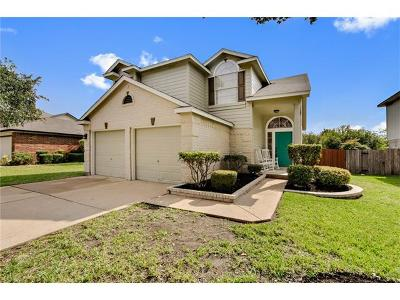 Round Rock Single Family Home For Sale: 17501 Salt Flat Ln