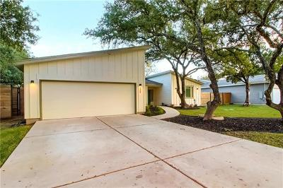 Austin Single Family Home For Sale: 8305 Williamson Creek Dr