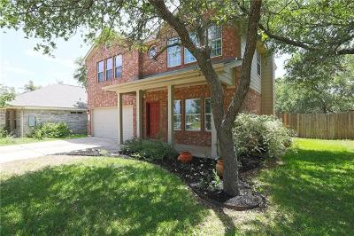 Cedar Park Single Family Home For Sale: 1920 Wheaton Trl