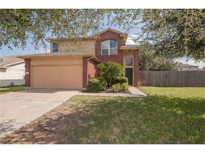 Leander Single Family Home For Sale: 2608 Turtle River Dr