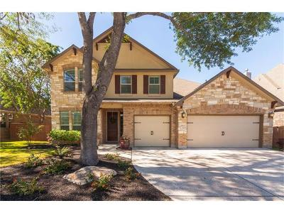 Leander Single Family Home Pending - Taking Backups: 2925 Wedgescale Pass