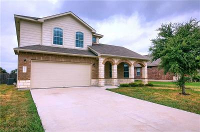 Pflugerville Single Family Home For Sale: 20220 Merlin Falcon Trl