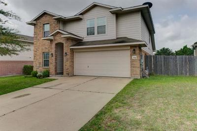 Round Rock Single Family Home For Sale: 3714 Hawk View St