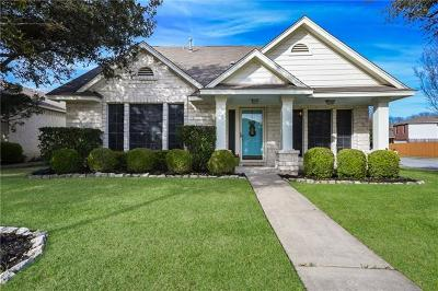 Pflugerville Single Family Home Pending - Taking Backups: 1400 Roxannes Run