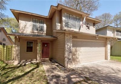 Austin Single Family Home For Sale: 12812 Modena Trail