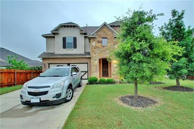 Pflugerville Single Family Home For Sale: 20905 Huckabee Bnd