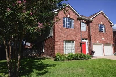 Round Rock Single Family Home For Sale: 2006 Spring Hollow Path