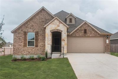 Round Rock Single Family Home For Sale: 7707 Arezzo Dr