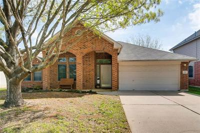 Cedar Park Single Family Home Pending - Taking Backups: 2445 Madeline Loop
