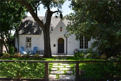 Austin Single Family Home For Sale: 101 W 32nd St