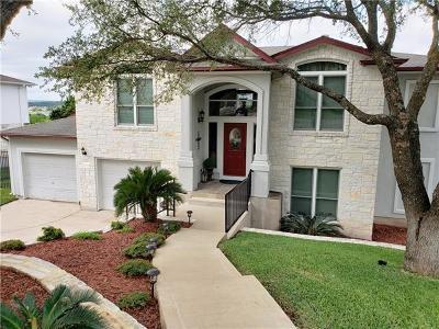 Lago Vista Single Family Home For Sale: 20903 Magellan Cv