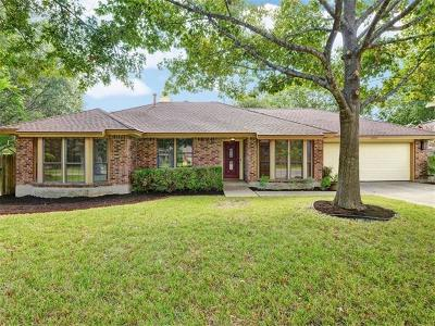 Travis County, Williamson County Single Family Home Pending - Taking Backups: 12705 Foxhound Cv