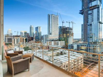 Austin Condo/Townhouse For Sale: 800 W 5th St #1109