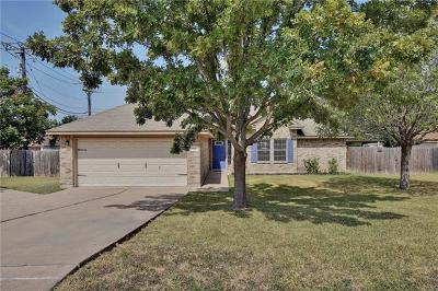 Pflugerville Single Family Home Pending - Taking Backups: 900 N Railroad Ave